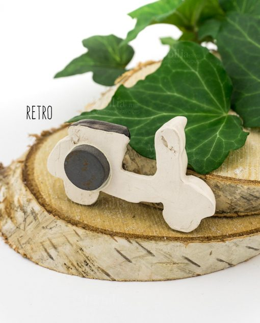 magnete vespa ceramica caltagirone retro