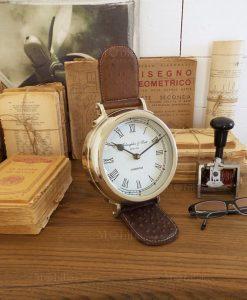 orologio da tavolo orologio da polso grande con quadrante bianco orchidea milano