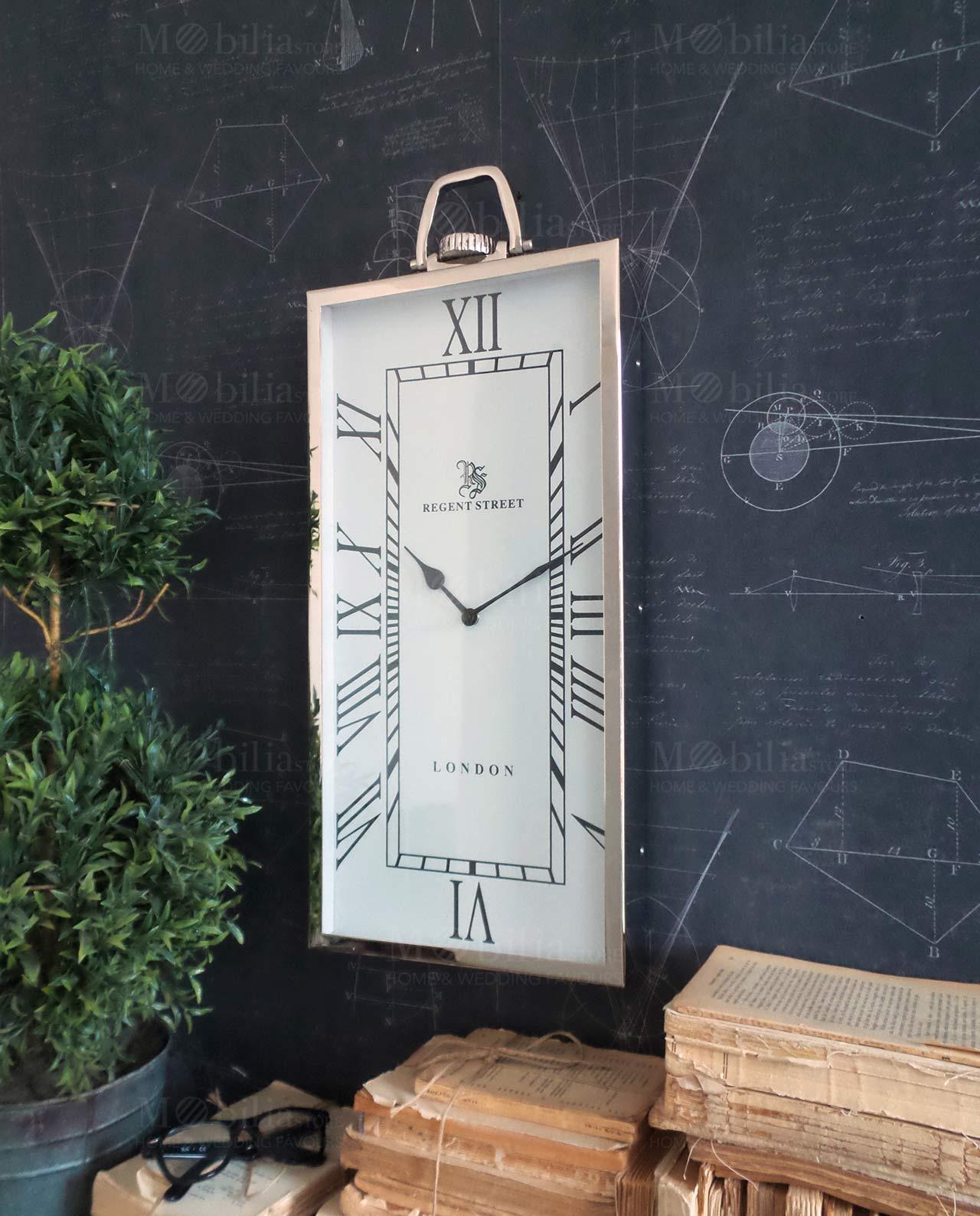Orologio da parete rettangolare london city mobilia for Mobilia recensioni