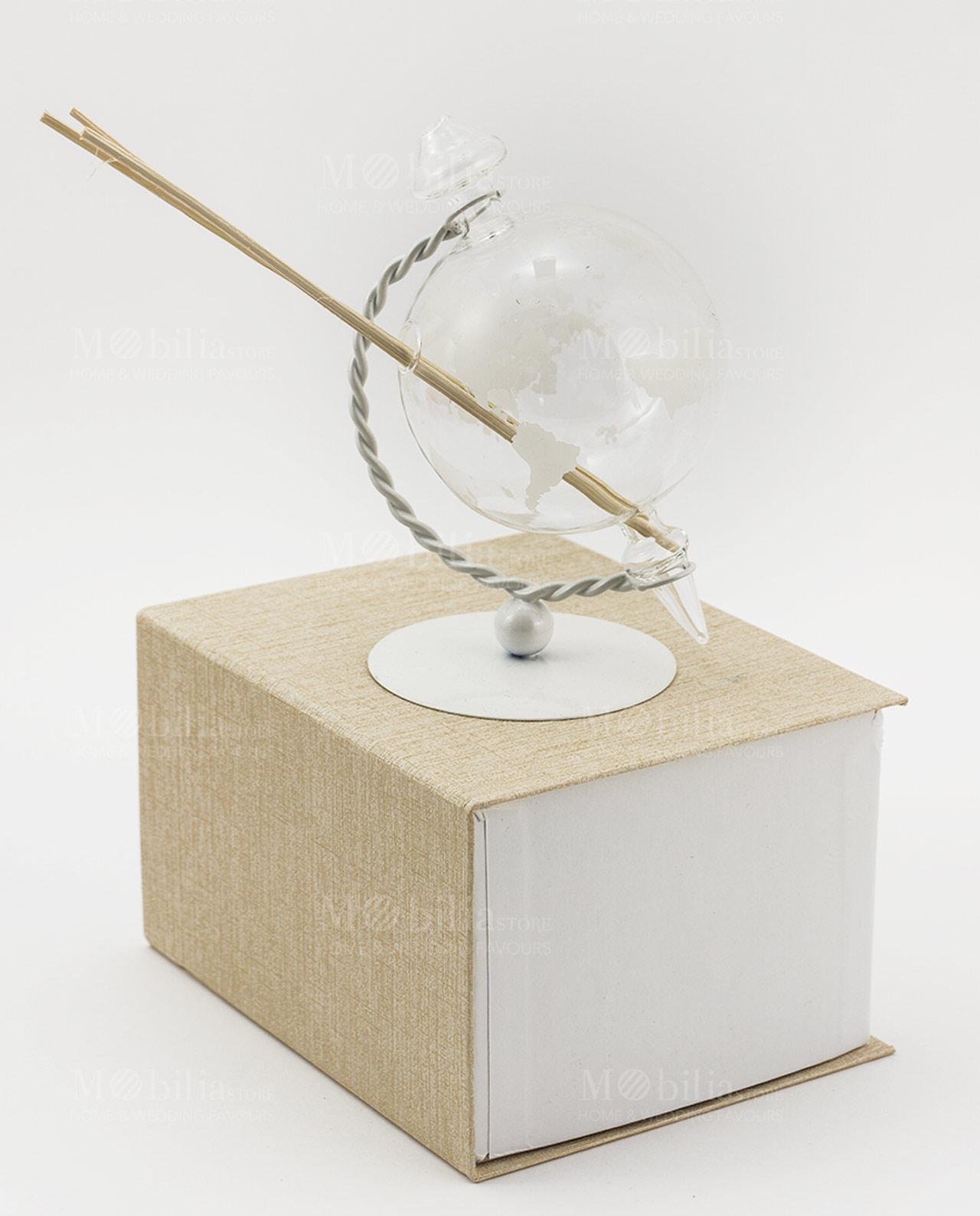 Profumatore mappamondo vetro mobilia store home favours for Mobilia recensioni
