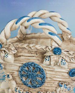 vaso coffa ceramica artigianale caltagirone sicilia