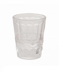 bicchiere vetro trasparente collezione nobilis villa deste