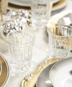 bicchieri acqua vetro trasparente collezione nobilis villa deste