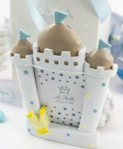 bomboniera portafoto castello bimbo