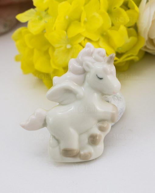 calamita porcellana unicorno rampante
