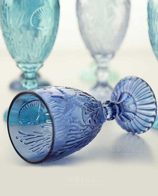 calice blu tema mare collezione pantelleria villa deste