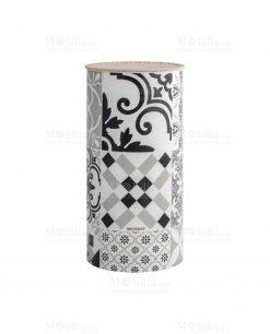 ceppo portacoltelli con stampa geometrica linea alhambra brandani