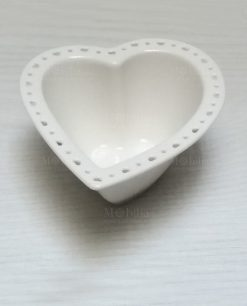 ciotolina cuore porcellana bianca brandani