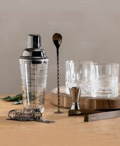cocktail set argento brandani