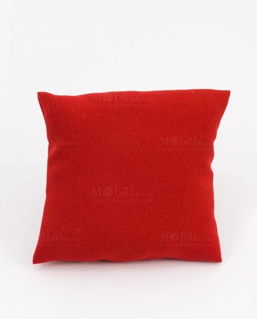 cuscino rosso quadrato portaconfetti