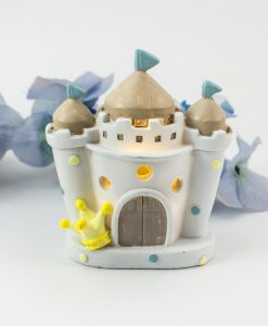 lampada led castello bimbo pois e corona