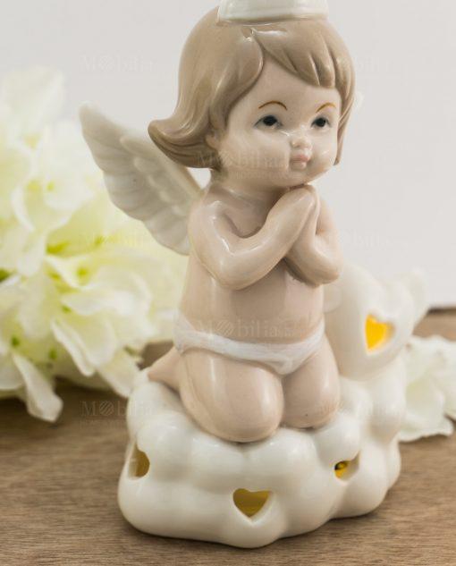 lampada led porcellana angelo bimba piccola