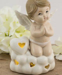 lampada led porcellana angelo bimbo grande
