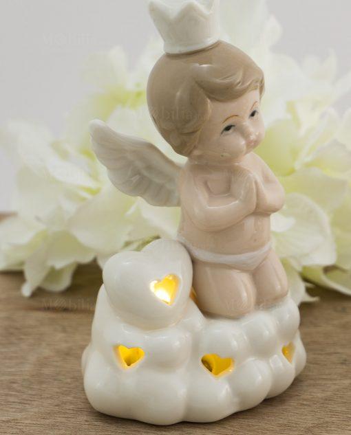 lampada led porcellana angelo bimbo piccola