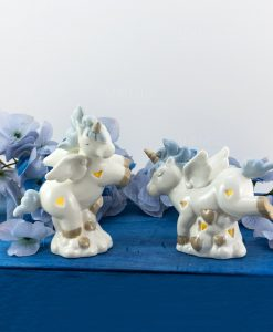 lampada unicorno azzurro piccola 2 posizioni assortite