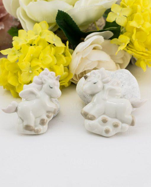 magnete porcellana unicorno forme assortite