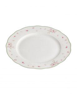 piatto da portata porcellana collezione nonna rosa brandani