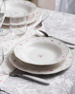 piatto piano e fondo collezione nonna rosa brandani