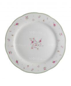 piatto piano porcellana collezione nonna rosa brandani