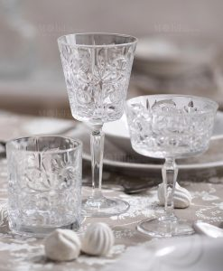 royal crystal glass bicchiere calice e coppa brandani