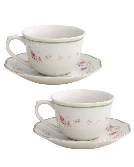 set tazze da the collezione nonna rosa brandani