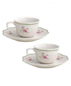 set tazzine da caffè collezione nonna rosa brandani