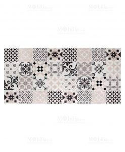 tappeto espanso decoro geometrico mattonella linea alhambra brandani
