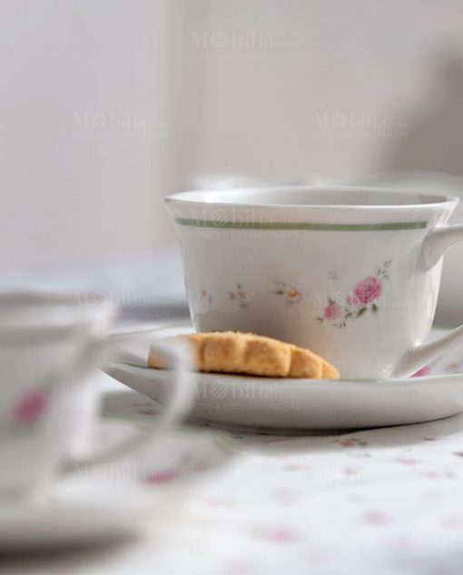 tazza da the porcellana collezione nonna rosa brandani