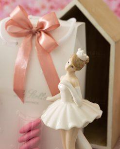 bomboniera sculturina ballerina grande in piedi