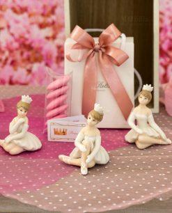 bomboniera sculturina bambolina ballerina piccola con tutù varie forme