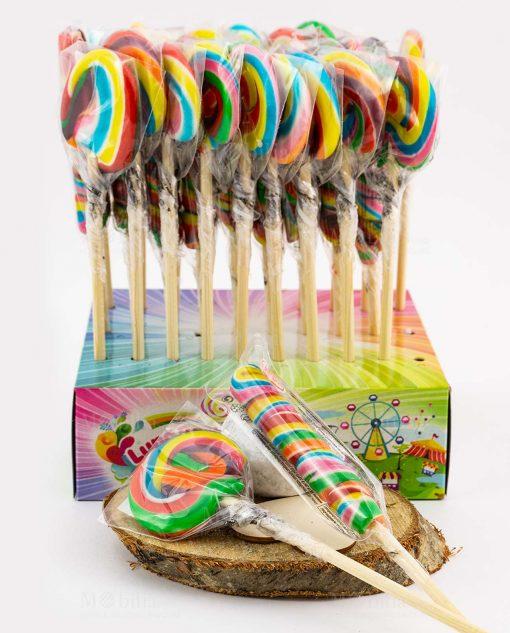 confezione lecca lecca colorate arcobaleno