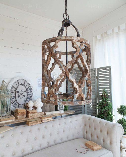 lampada a sospensione gabbia orchidea milano