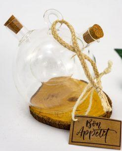 oliera bon tappo sughero e corodncino
