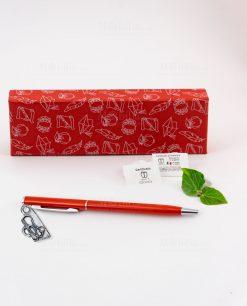 penna rossa ciondolo stetoscopio tabor
