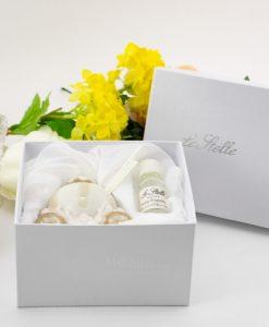 profumatore carrozza con bastoncini fragranza oil e scatola cartoncino
