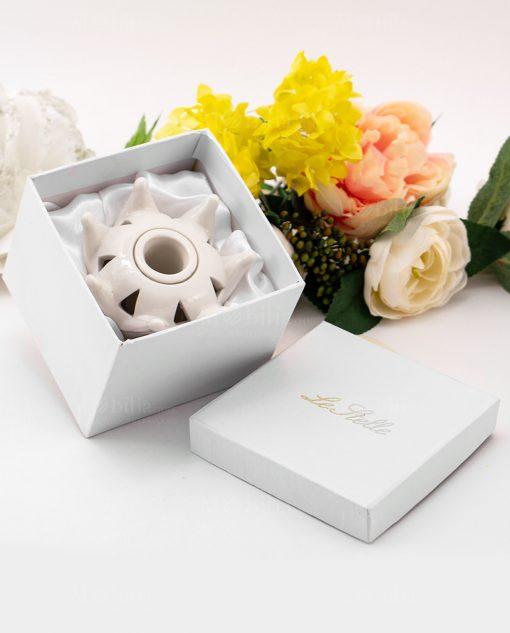 profumatore corona con scatola cartoncino