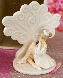 sculturina albero della vita grande con ballerina
