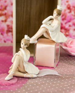 sculturina porcellana grande ballerina varie forme