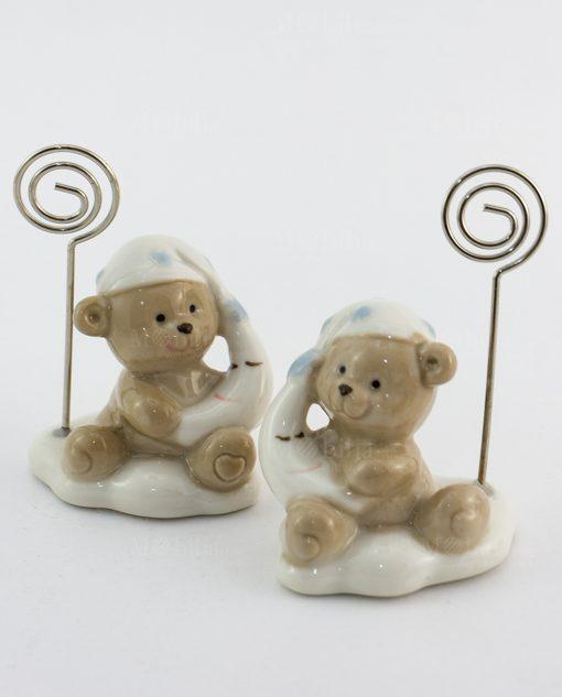 memoclip porcellana orsetto memoclip assortiti