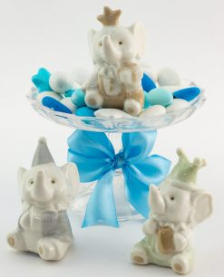 sculturina porcellana elefante modelli assortiti