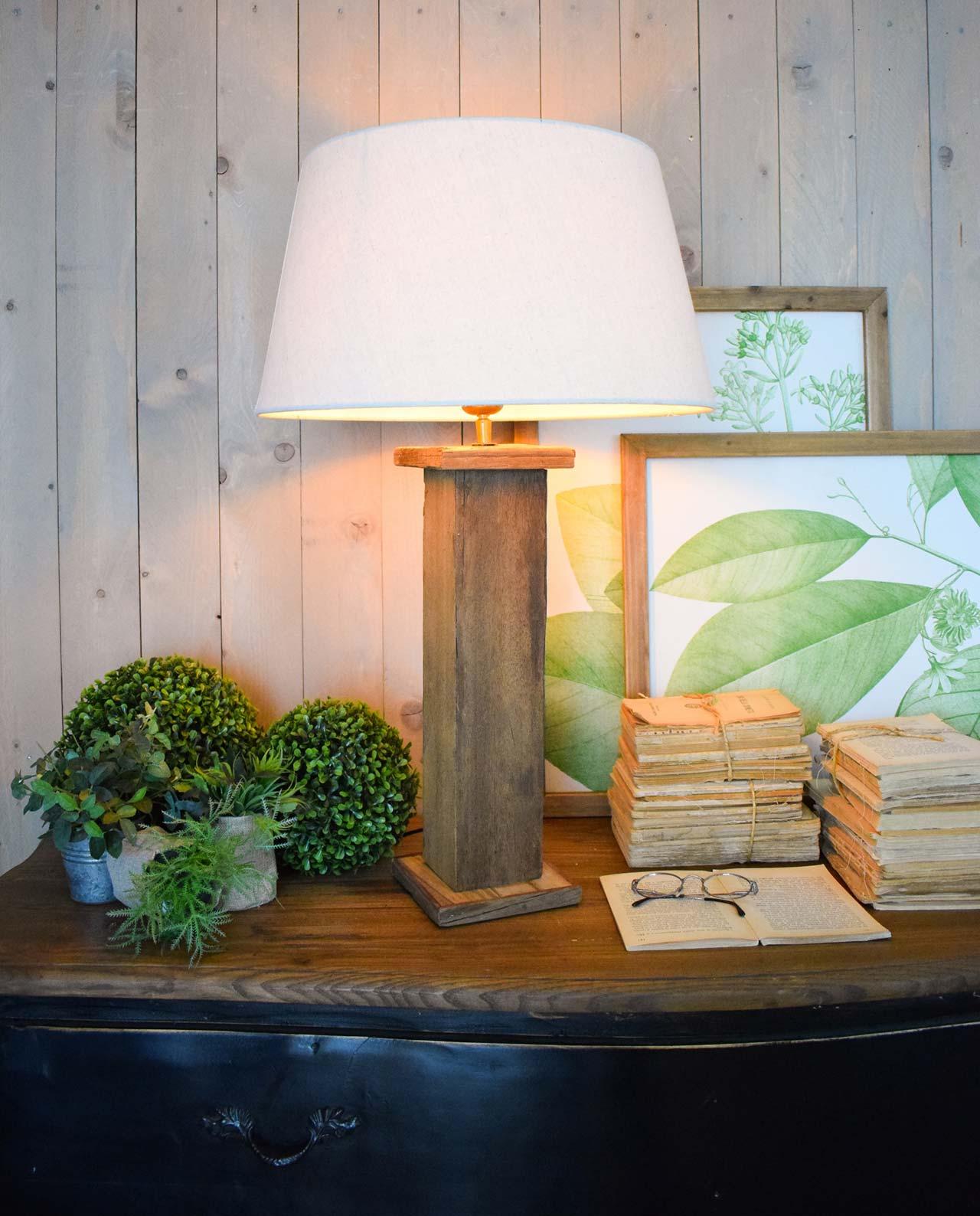 Lampada Da Tavolo Legno Aspen Mobilia Store Home Favours