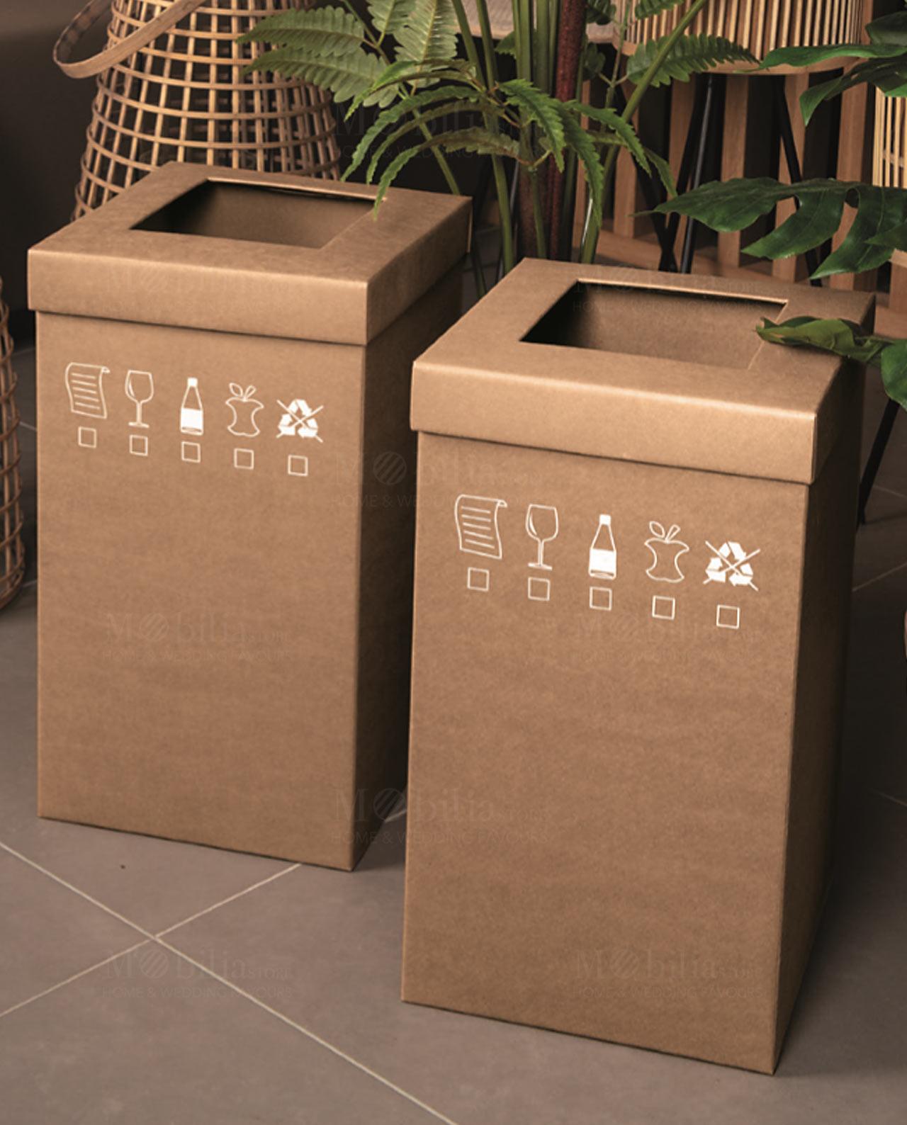 Cestini Raccolta Differenziata Casa cestino differenziata ecologico cartone naturale